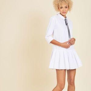 ModCloth My Proper Still Stands Shirt Dress